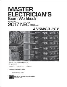 Master Electrician's Exam Workbook Answer Key Based on the 2017 NEC® PDF Download