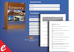 Carpentry Online Assessments/Testbanks (AS)
